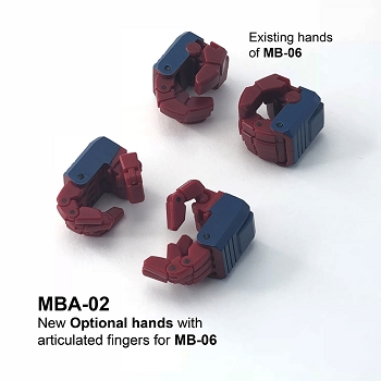 Fans Hobby MasterBuilder MBA-02 ARTICULATED HANDS